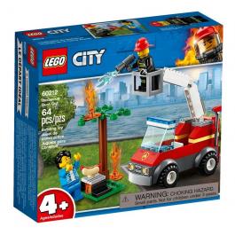 Barbecue in fumo - Lego City 60212