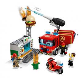 Fiamme al Burger Bar - Lego City 60214