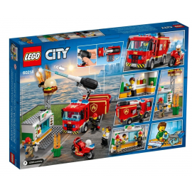 Fiamme al Burger Bar - Lego City 60214