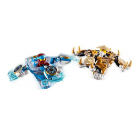 Nya e Wu Spinjitzu - Lego Ninjago 70663