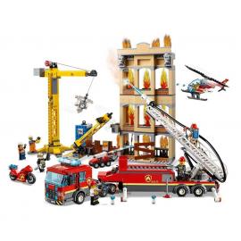Missione antincendio in città - Lego City 60216