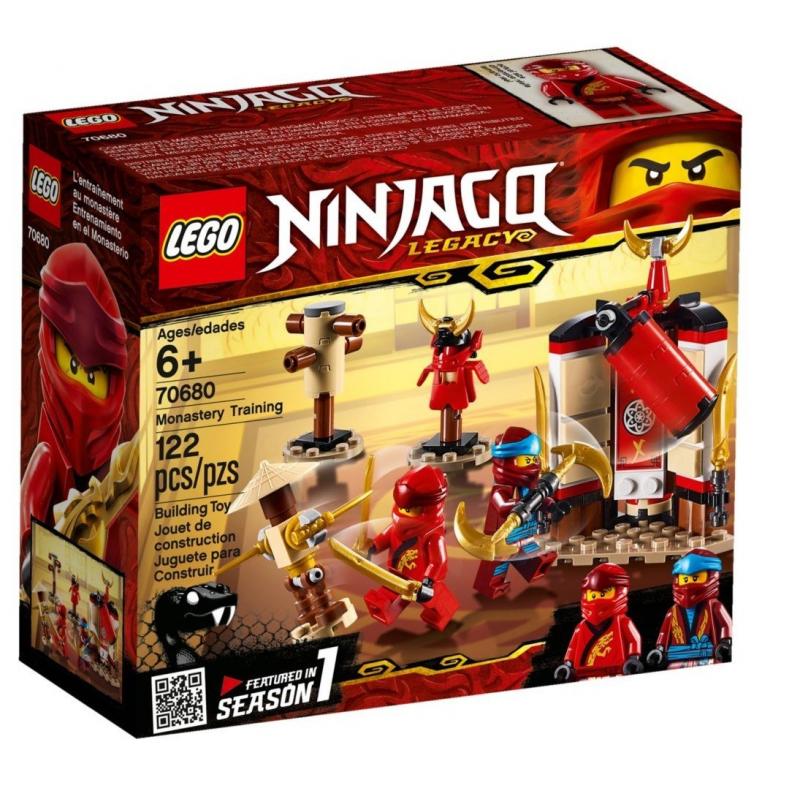 Addestramento al monastero - Lego Ninjago 70680