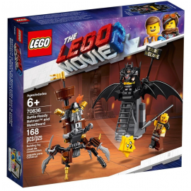 Batman™ pronto alla battaglia e Barbacciaio - The Lego Movie 2 70836