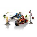Moto-lama di Kai e Moto-neve di Zane - Lego Ninjago 70667