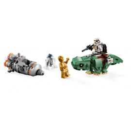 Microfighter Capsula di salvataggio contro Dewback™ - Lego Star Wars 75228