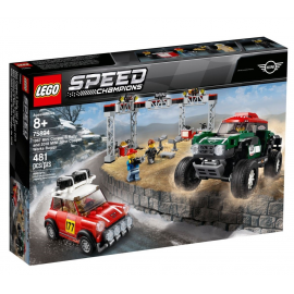 1967 Mini Cooper S Rally e 2018 MINI John Cooper Works Buggy - Lego Speed Champions 75894