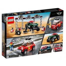 1967 Mini Cooper S Rally e 2018 MINI John Cooper Works Buggy - Lego Speed Champions 75894