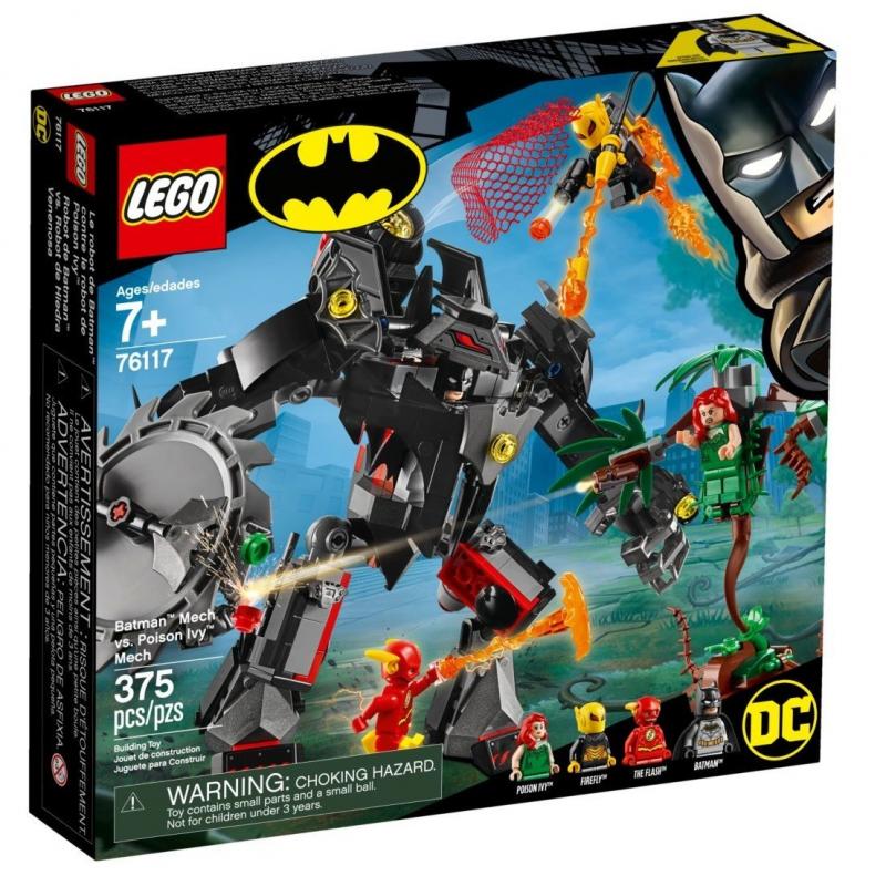 Mech di Batman™ vs. Mech di Poison Ivy™ - Lego DC Super Heroes 76117