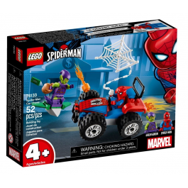 Inseguimento in auto di Spider-Man - Lego Marvel Super Heroes 76133