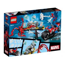 Salvataggio sulla moto di Spider-Man - Lego DC Super Heroes 76113