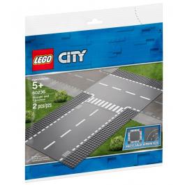Rettilineo e incrocio a T - Lego City 60236