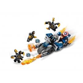 Captain America: attacco degli Outrider - Lego Marvel Super Heroes 76123
