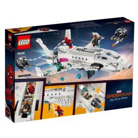 Il jet Stark e l'attacco del drone - Lego Marvel Super Heroes 76130