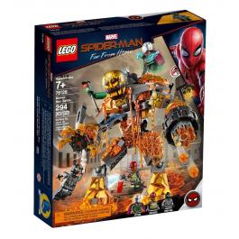La battaglia di Molten - Lego Marvel Super Heroes 76128
