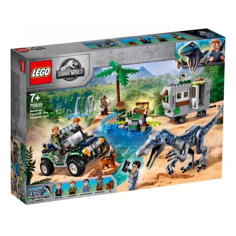 Faccia a faccia con il Baryonyx: caccia al tesoro - Lego Jurassic World 75935