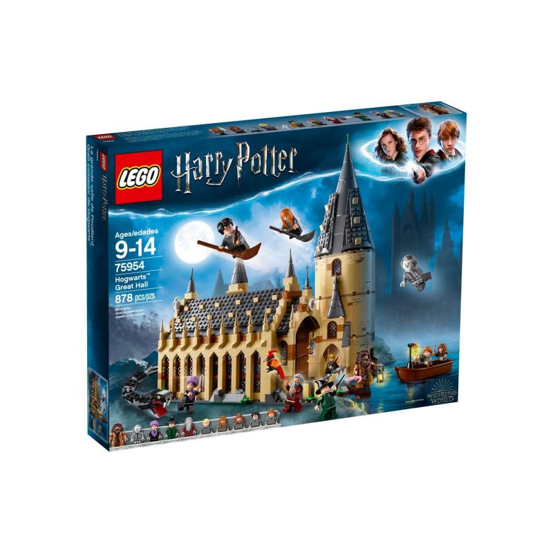 La Sala Grande di Hogwarts - Lego Harry Potter 75954