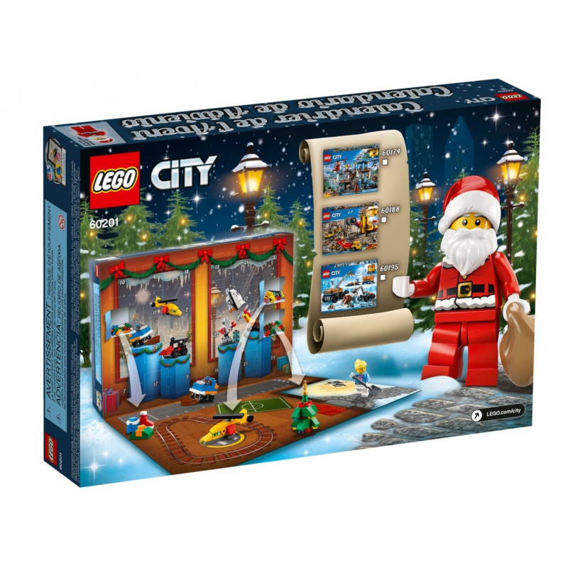 Calendario dell'Avvento LEGO® City - Lego City 60201