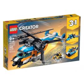 Elicottero Bi-Rotore - Lego...