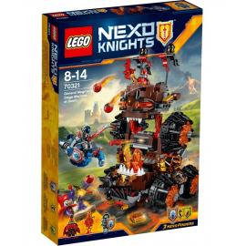 La Macchina d'assedio del Generale Magma - Lego Nexo Nights 70321