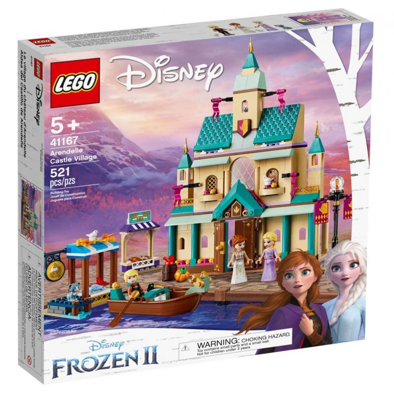 Il villaggio del Castello di Arendelle - Lego Disney 41167