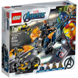 Avengers - Attacco del camion - Lego Marvel Super Heroes 76143