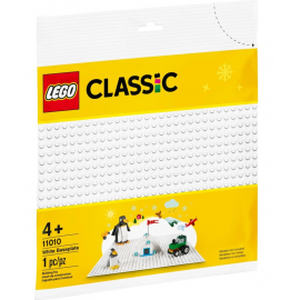 Base bianca - Lego Classic 11010