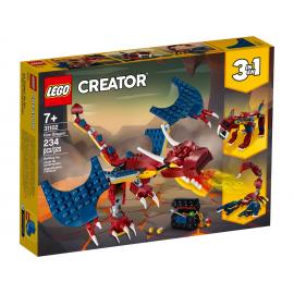 Drago del fuoco - Lego Creator 31102