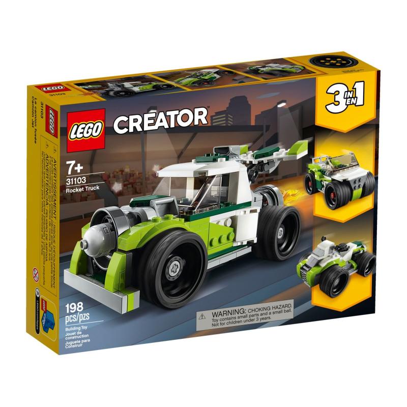 Razzo-bolide - Lego Creator 31103