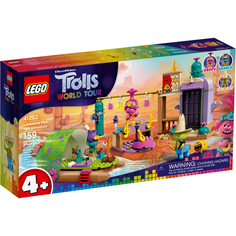 Avventura sulla zattera a Lonesome Flats - Lego Trolls 41253