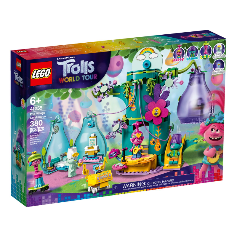 Festa al Villaggio Pop - Lego Trolls 41255
