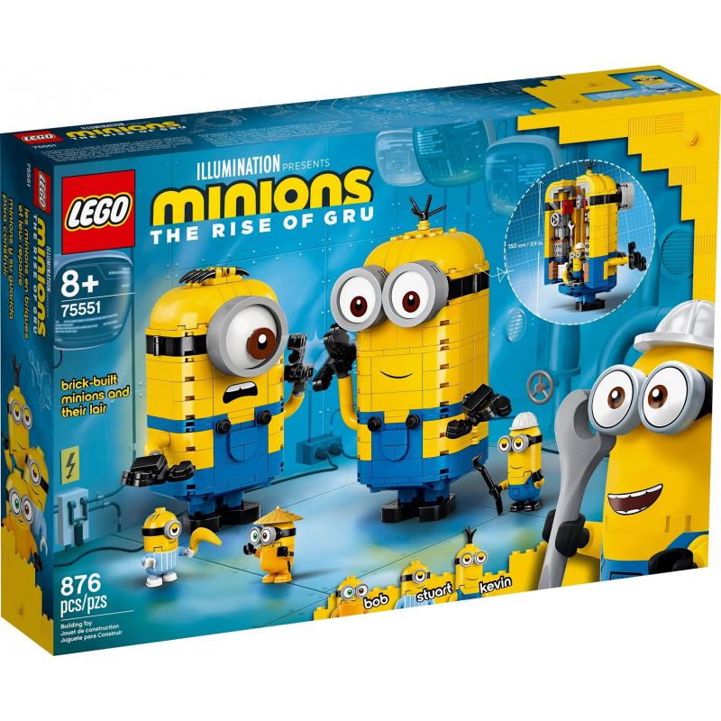 Personaggi Minions e la loro tana - Lego Minions 75551
