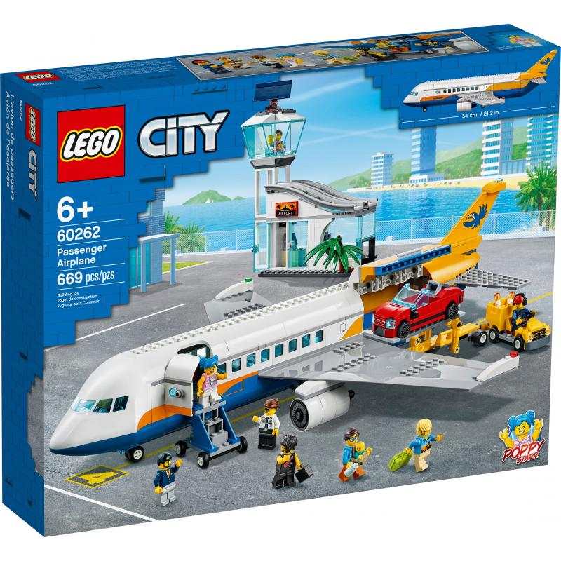 Aereo passeggeri - Lego City 60262