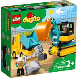 Camion e scavatrice cingolata - Lego Duplo 10931