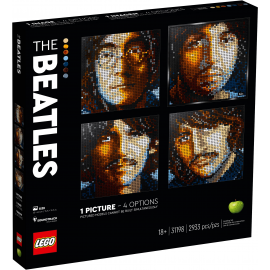 The Beatles - Lego Art 31198