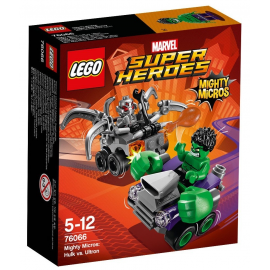 Mighty Micros: Hulk contro Ultron - Lego Marvell Super Heroes 76066