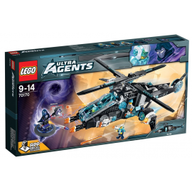 UltraCopter vs AntiMatter - Lego Ultra Agents 70170