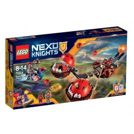 Il Carro caotico di Beast Master - Lego Nexo Nights 70314