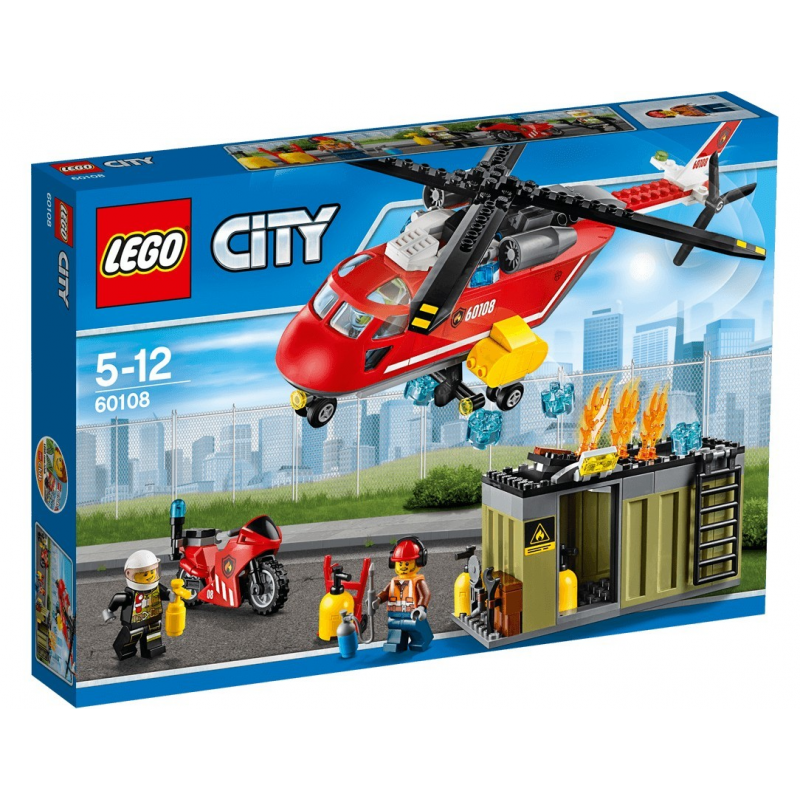 Unità di risposta antincendio - Lego City 60108
