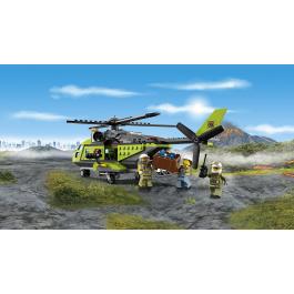Elicottero dei rifornimenti vulcanico - Lego City 60123