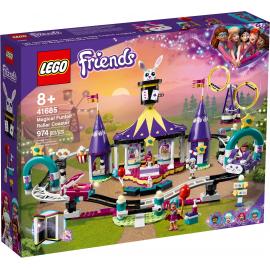 Le Montagne russe del luna park magico - Lego Friends 41685