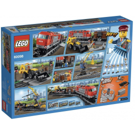 Treno trasporto pesante - Lego City 60098