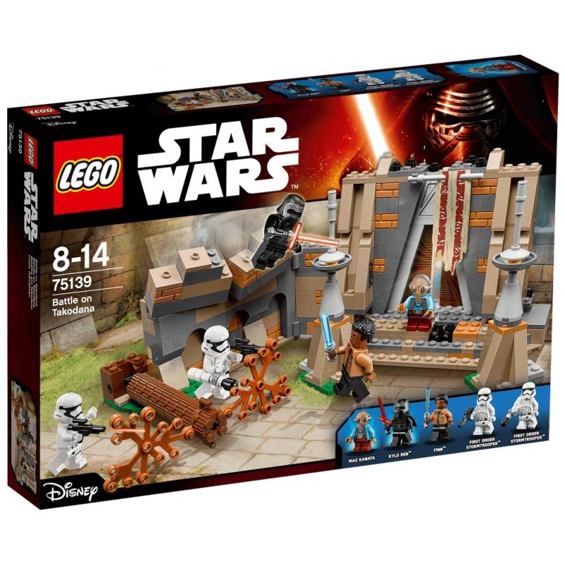 Battaglia al castello di Maz - Lego Star Wars 75139