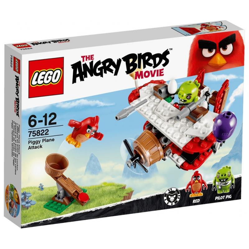 L'attacco sull'aereo del maiale - Lego Angry Birds 75822