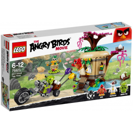 La rapina delle uova su Bird Island - Lego Angry birds 75823