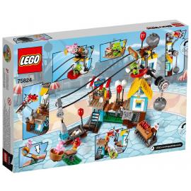 La demolizione di PIg City - Lego Angry birds 75824