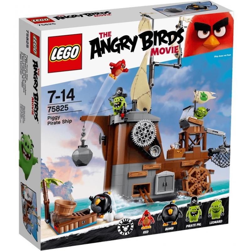 Nave dei pirati dei maiali - Lego Angry birds 75825